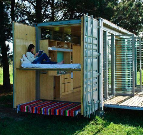 Maison Container Maison Transportable Construction Contemporaine