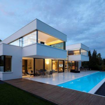 Construction contemporaine maison moderne maison - Architettura case moderne idee ...