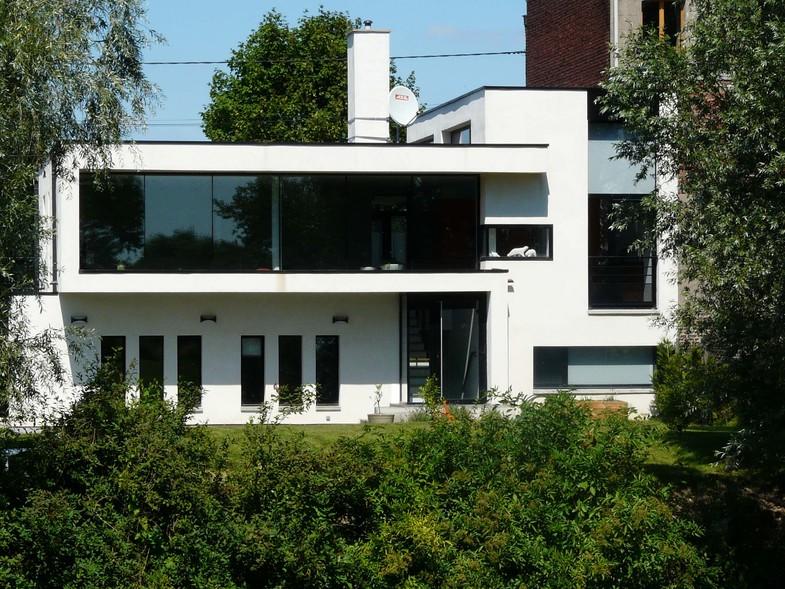 Maison de ville ultra contemporaine construction contemporaine - Maison de ville rustique adelaide ...