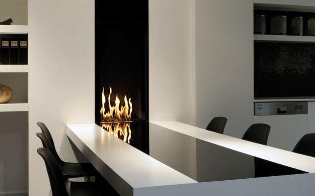 les plus belles chemin es contemporaines construction contemporaine. Black Bedroom Furniture Sets. Home Design Ideas