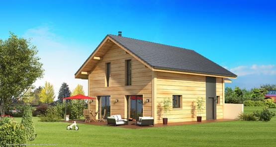 Maison bois contemporaine en haute savoie 74 for Interieur design epagny