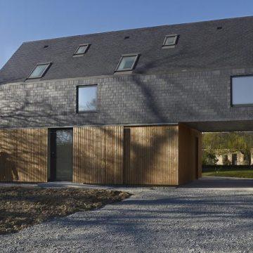 Une maison contemporaine d'architecte en Bretagne