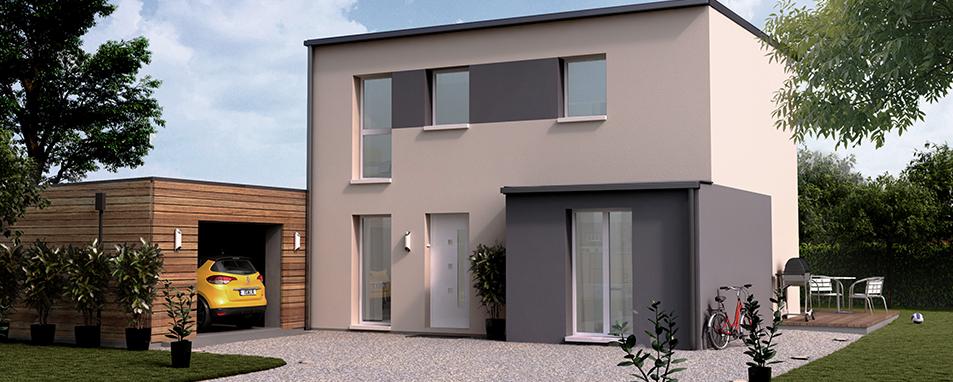 Construire une maison Mikit contemporaine (Isalie)