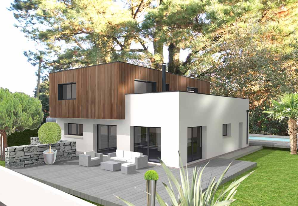 Projet de maison individuelle contemporaine SATOV