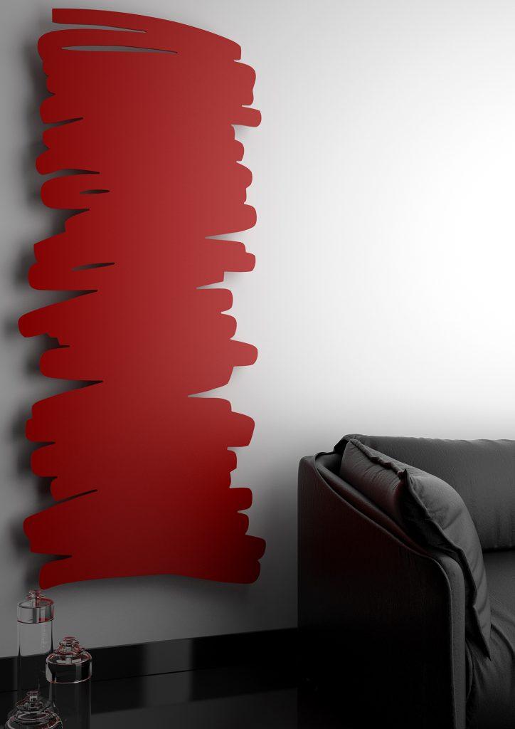 Un radiateur mural très tendance de chez Varela Design